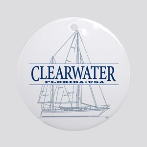 Clearwater Florida - Ornament (Round)
