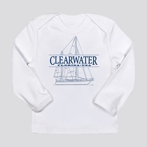 Clearwater Florida - Long Sleeve Infant T-Shirt