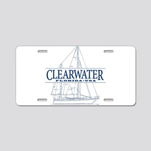 Clearwater Florida - Aluminum License Plate