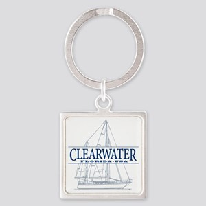 Clearwater Florida - Square Keychain