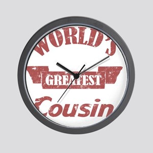 Worlds Greatest Cousin Wall Clock