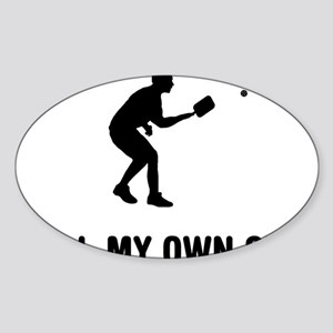 Pickleball-03-A Sticker (Oval)