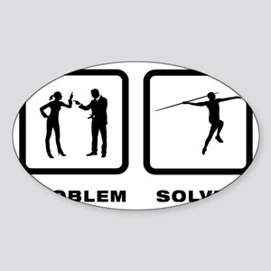 Javelin-10-A Sticker (Oval)
