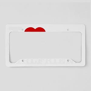 republican Girlfriend License Plate Holder