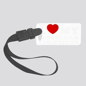 republican Girlfriend Small Luggage Tag
