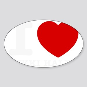 I love Nikki Haley Sticker (Oval)