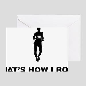 Race-Walking-12-A Greeting Card