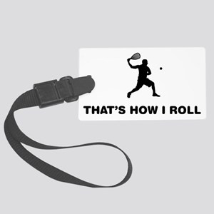 Racquetball-12-A Large Luggage Tag