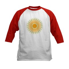 chrysanthemum Kids Baseball Jersey