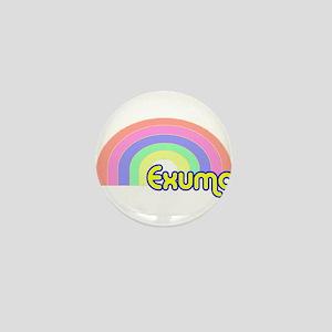 Exuma, Bahamas Mini Button