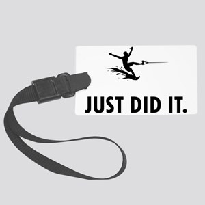 Waterskiing-04-A Large Luggage Tag