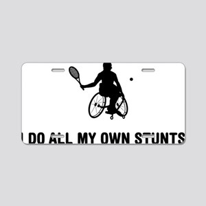 Wheelchair-Tennis-03-A Aluminum License Plate