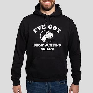 Ive got Show Jumping Skills Hoodie (dark)