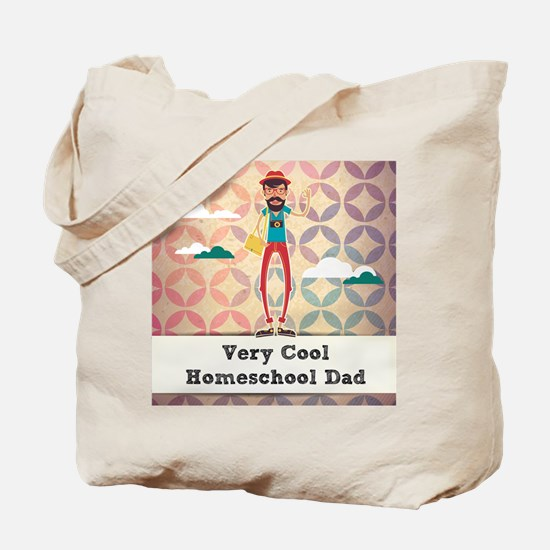 Very Cool Homeschool Dad Tote Bag