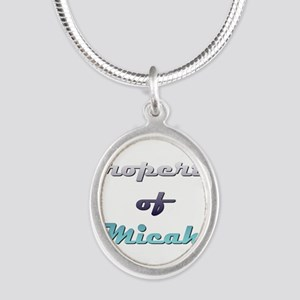 Property Of Micah Male Necklaces