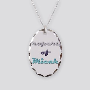 Property Of Micah Male Necklace