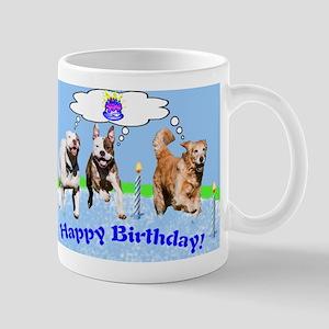birthday dogs Mugs