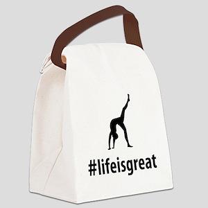 Yoga-06-A Canvas Lunch Bag