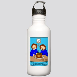 Looney Twins How Old Stainless Water Bottle 1.0L