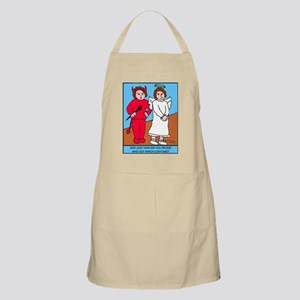 Looney Twins Good and Evil Apron