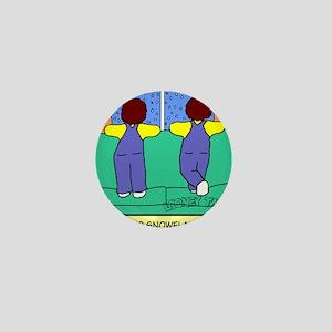 Looney Twins Snowflakes Mini Button