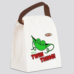 Looney Twins Twin Thing Canvas Lunch Bag
