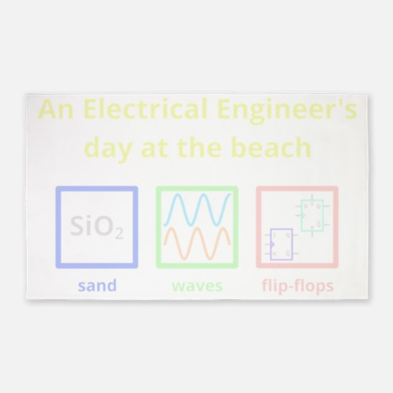 An Electrical Engineers day at the  3'x5' Area Rug