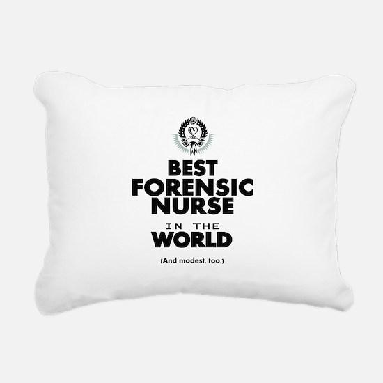 The Best in the World Nurse Forensic Rectangular C