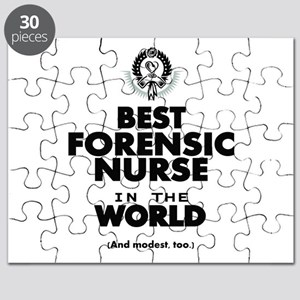 The Best in the World Nurse Forensic Puzzle