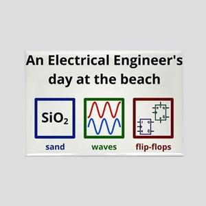 An Electrical Engineers day at th Rectangle Magnet