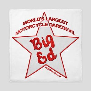 Big Ed Beckley star logo Queen Duvet