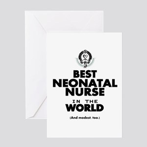 The Best in the World Nurse Neonatal Greeting Card
