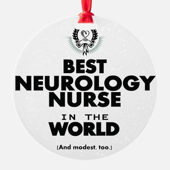 The Best Nurse in the World Neurology Ornament