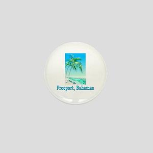 Freeport, Bahamas Mini Button