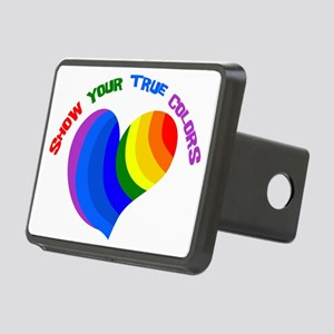 Show Your True Colors Rectangular Hitch Cover