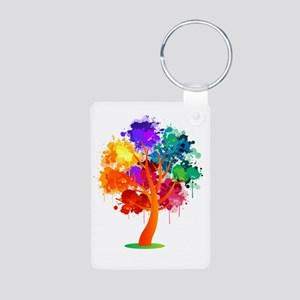 Different Not Less Aluminum Photo Keychain