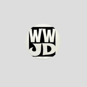 W W J D Mini Button