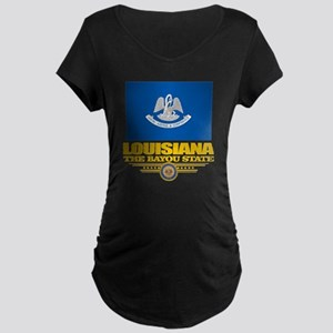 Louisiana Pride Maternity Dark T-Shirt