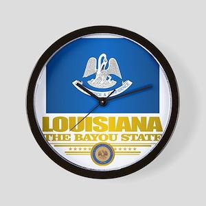 Louisiana Pride Wall Clock