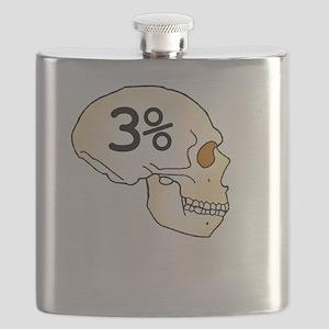 Three Percent Neanderthal Flask