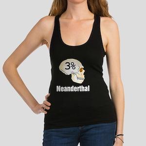Three Percent Neanderthal Racerback Tank Top