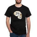 Neanderthal Mens Classic Dark T-Shirts