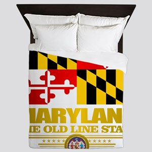 Maryland Pride Queen Duvet