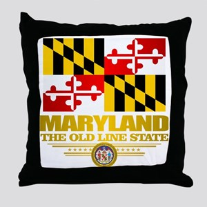 Maryland Pride Throw Pillow