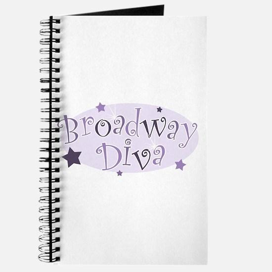 """Broadway Diva"" [purple] Journal"