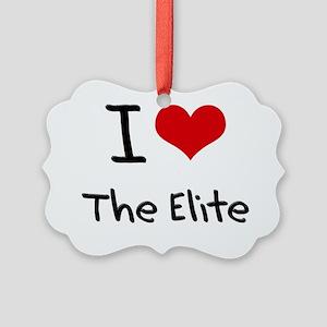 I love The Elite Picture Ornament