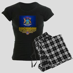 Michigan Pride Women's Dark Pajamas