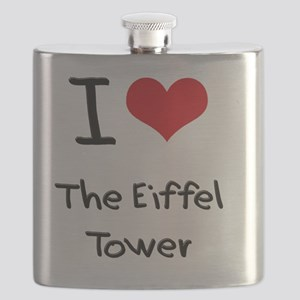 I love The Eiffel Tower Flask