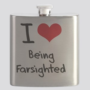 I Love Being Farsighted Flask
