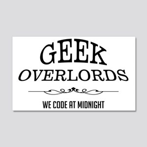 Geek Overlords 20x12 Wall Decal